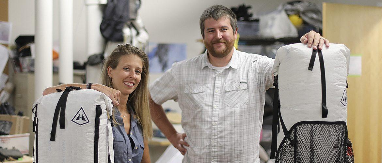 Alumni owners of Hyperlite outdoor gear company