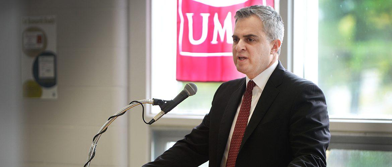 UMF President Edward Serna