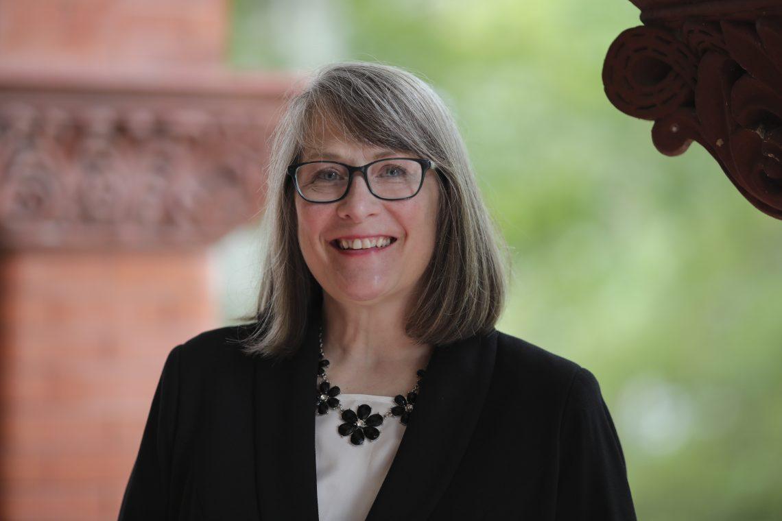 Christine Wilson, VP for Student Affairs and Enrollment Management