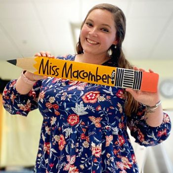Portrait of Early Childhood Education graduate Crystal Macomber