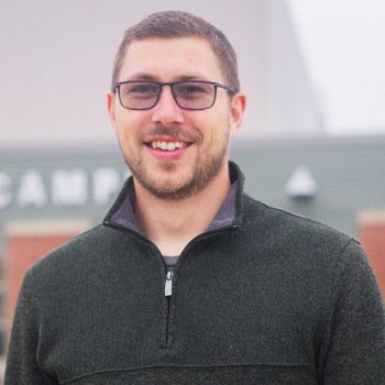 Portrait of Rehabilitation services graduate Spencer Trenoweth