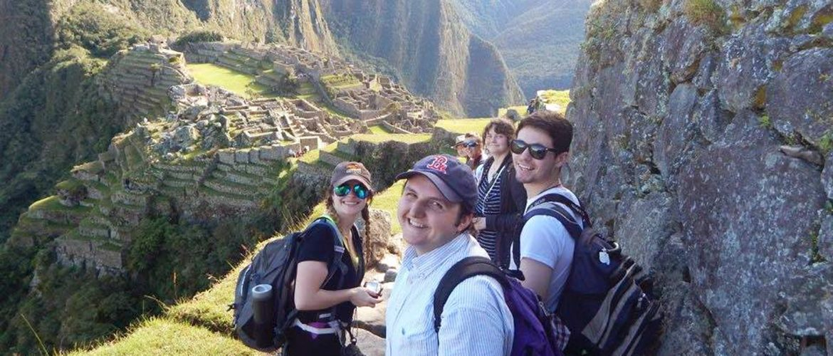 Students studying abroad in Peru
