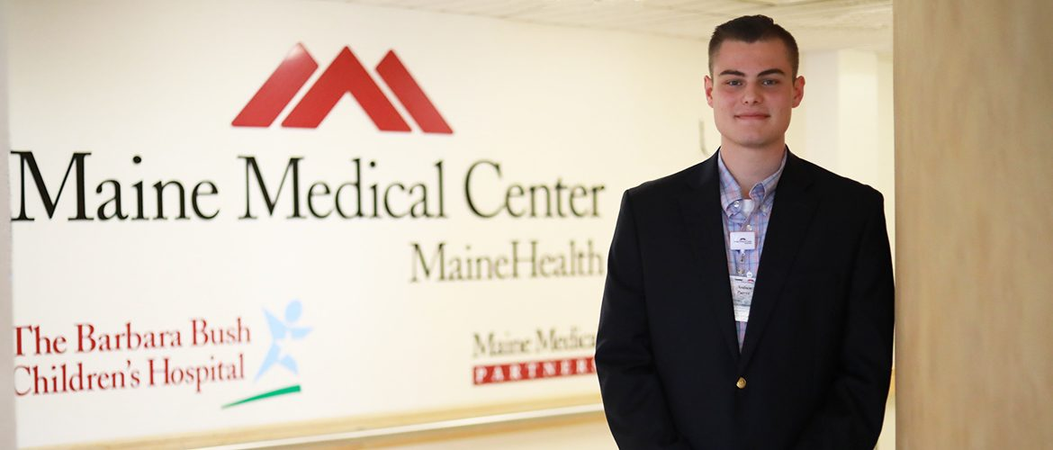 Student intern at Maine Medical Center hospital