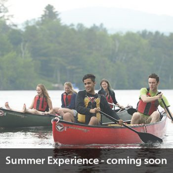 Summer Experience-coming soon