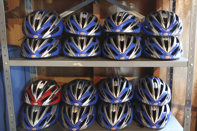Mainely Outdoors bike helmets