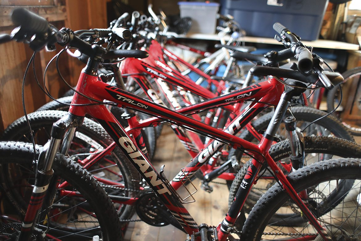 Mainely Outdoors bikes