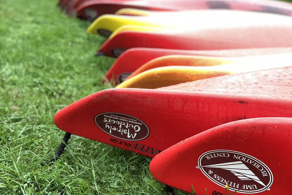 Mainely Outdoors kayaks