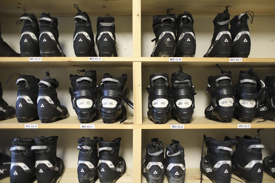 Mainely Outdoors Nordic ski boots
