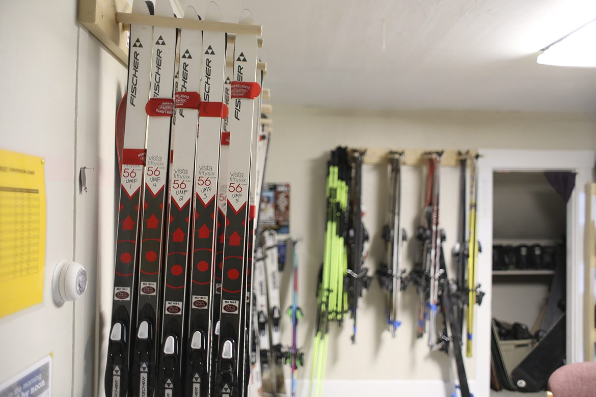 Mainely Outdoors Nordic skis