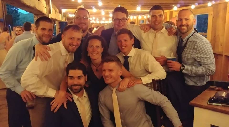 Spinelli Jenkins wedding group