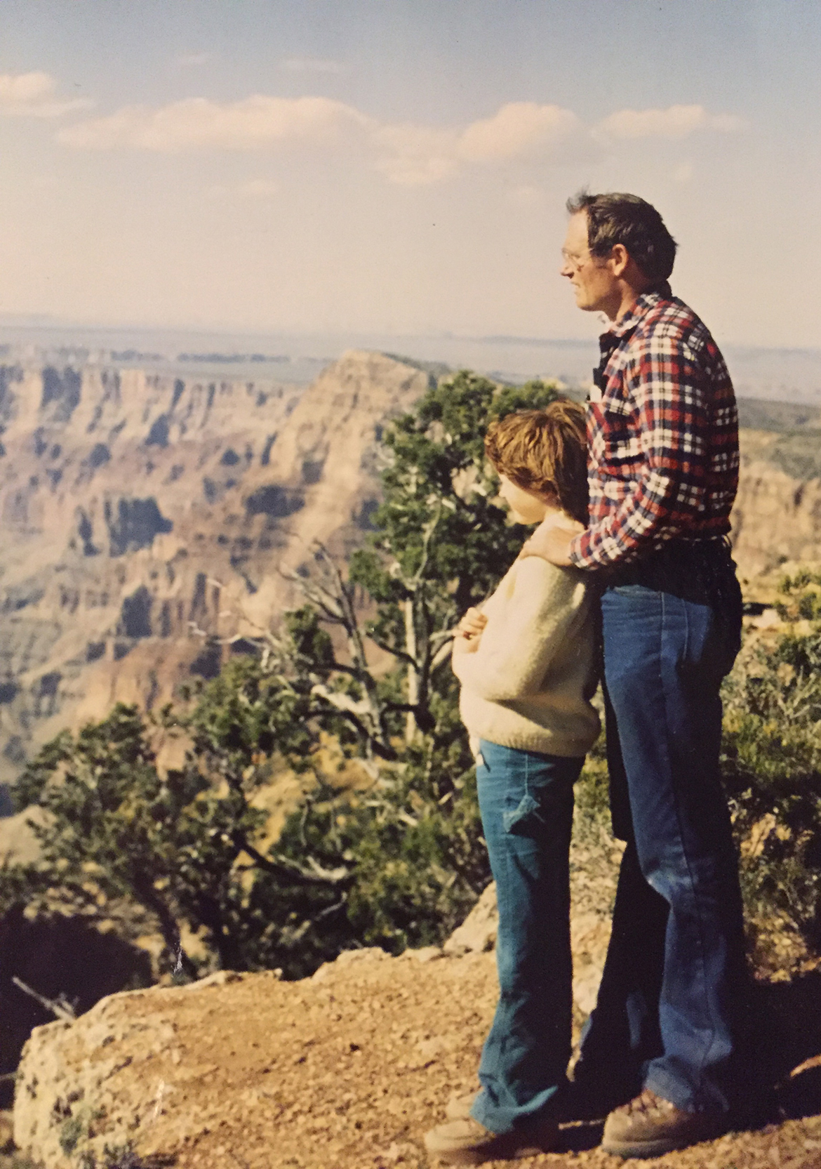Tom Eastler with his daughter Gretchen Eastler Fishman
