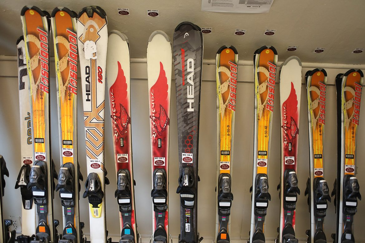 Mainely Outdoors alpine skis