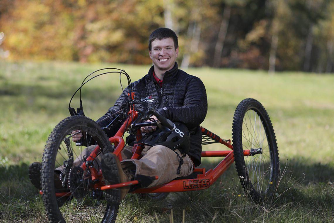Brandon Merry, program manager at Maine Adaptive Sports