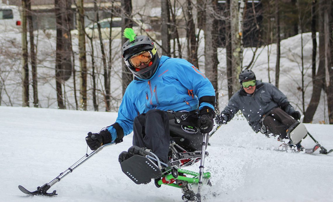 Sit Skis at Maine Adaptive Sports and Recreation