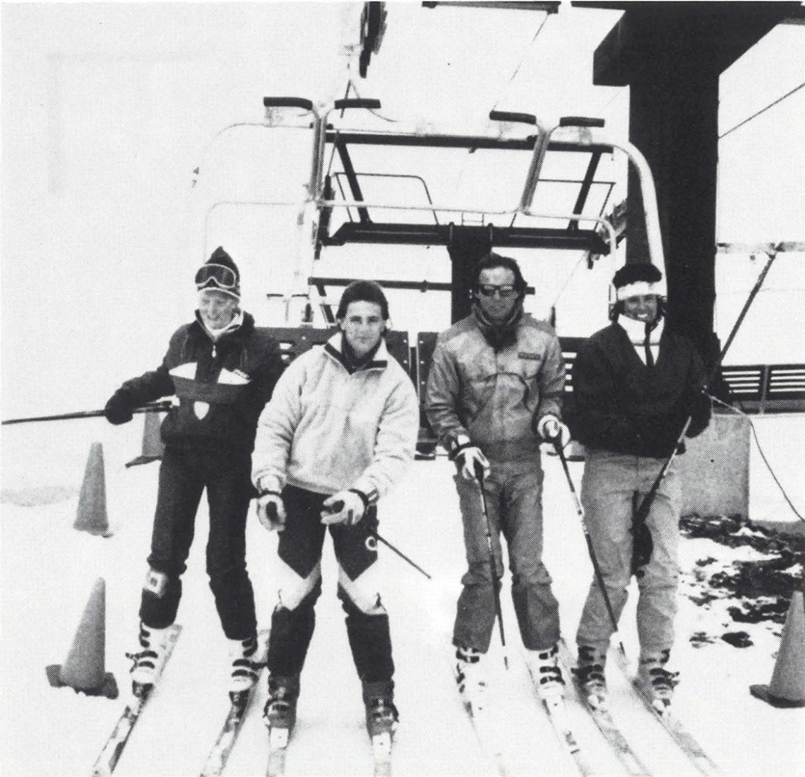 1988 Ski Industry Class at Sugarloaf