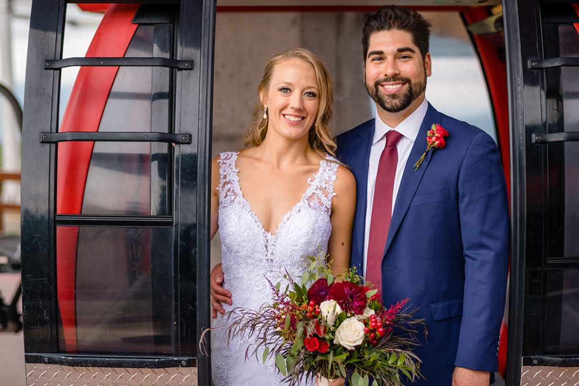 Jessica Timmreck and Will Griffiths wedding photo