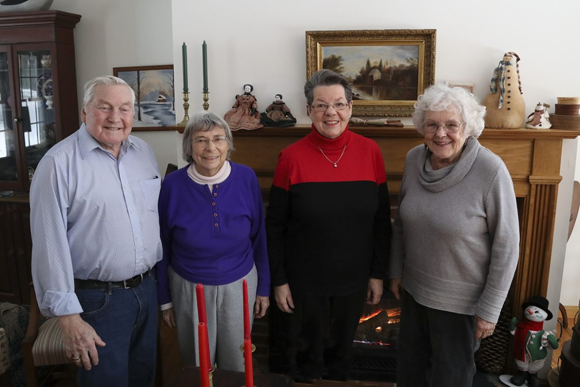 The Pinkhams, Betty-Jane Meader, and Marilyn Hall