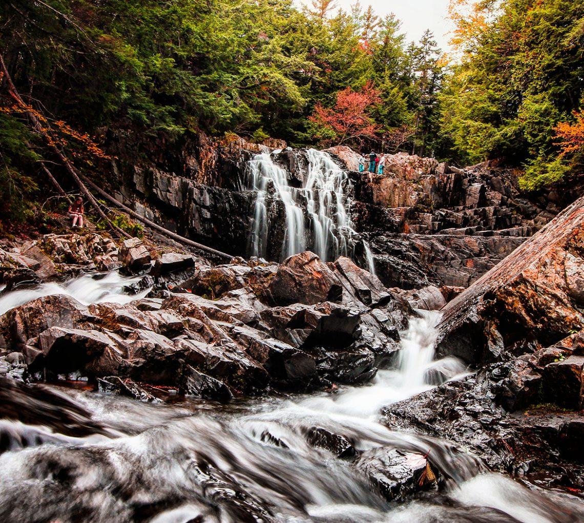 Houston Brook Falls, Maine