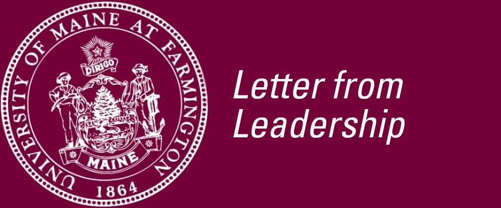 Letter from Leadership