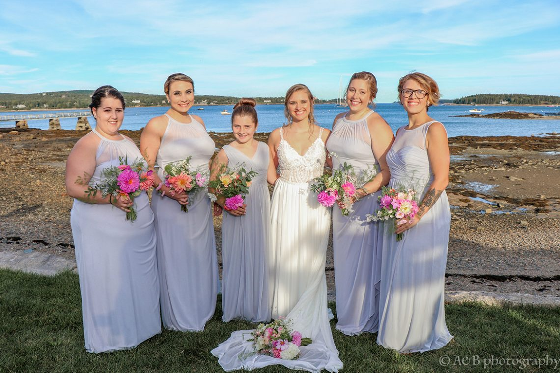 Mailhot Wedding bridal party