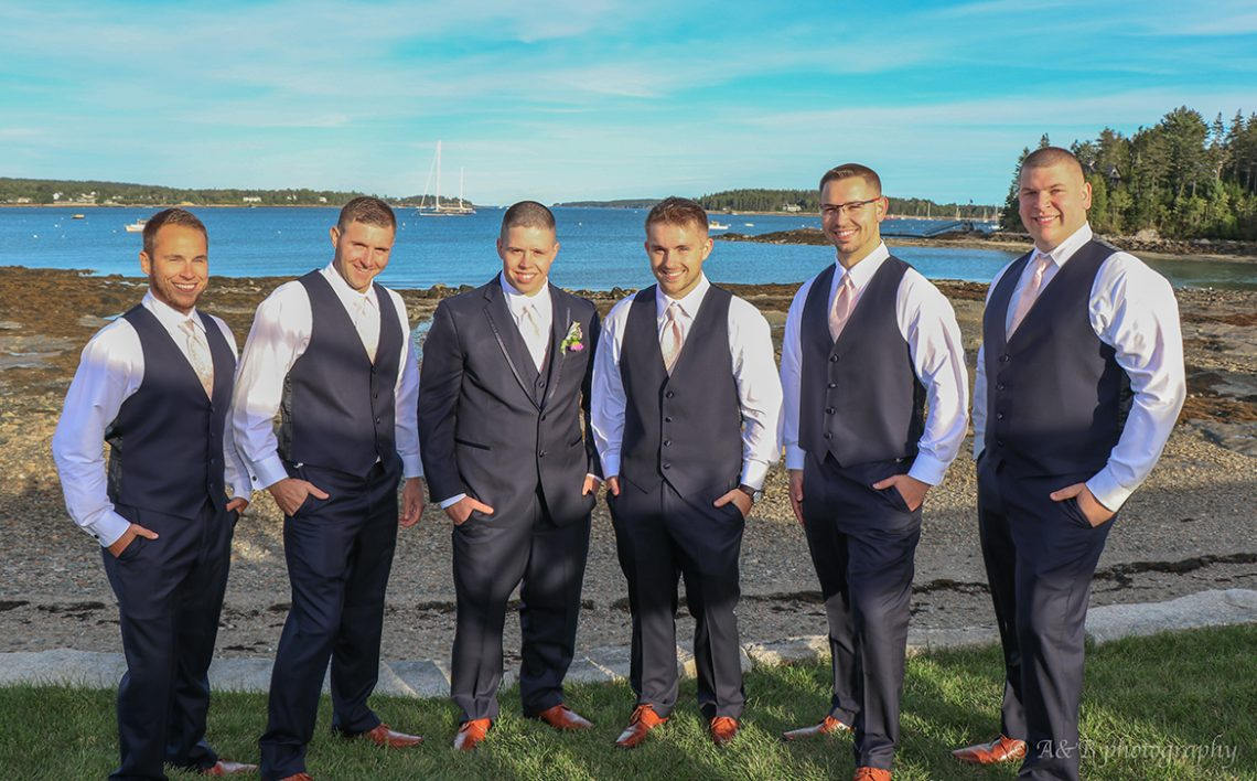 Mailhot wedding groomsmen