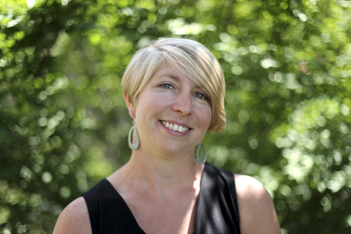 Elyse Pratt-Ronco '02, assistant director of Upward Bound