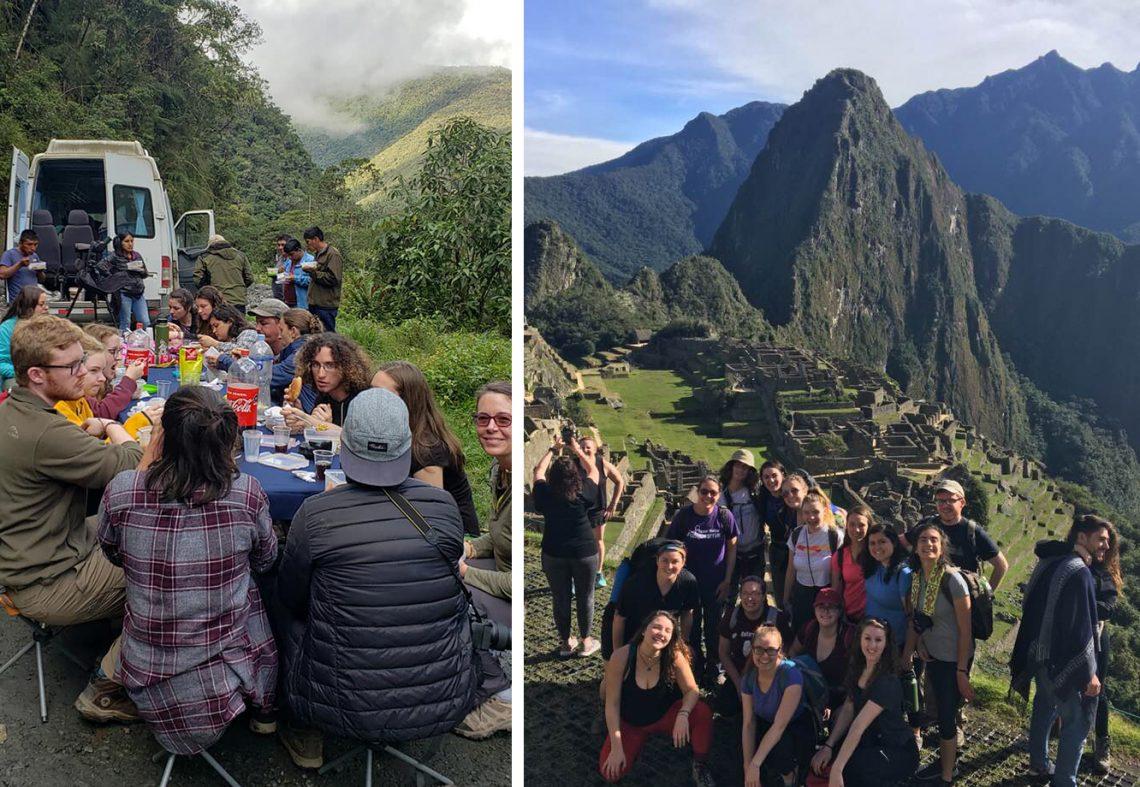 May Term trip to Peru