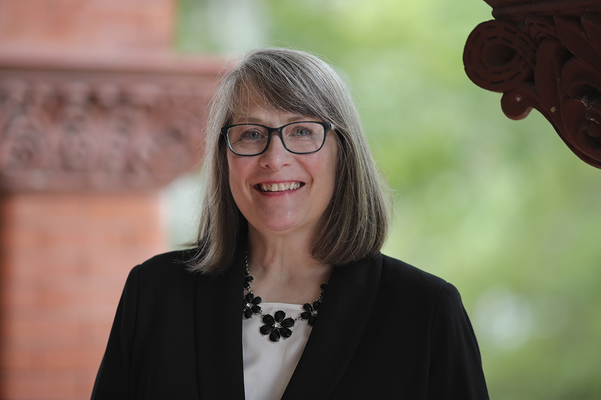 Christine Wilson, Vice President of Student Affairs at UMF