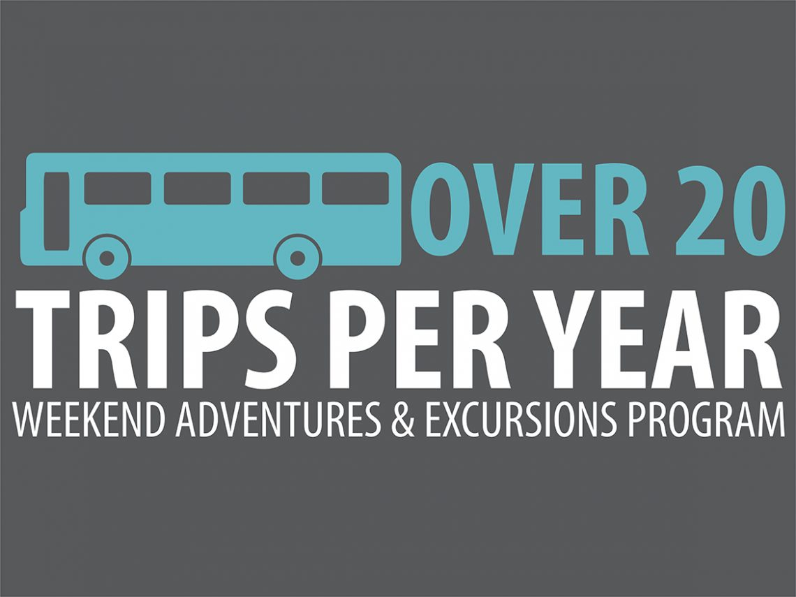 UMF students can take advantage of more than 20 off-campus trips annually.