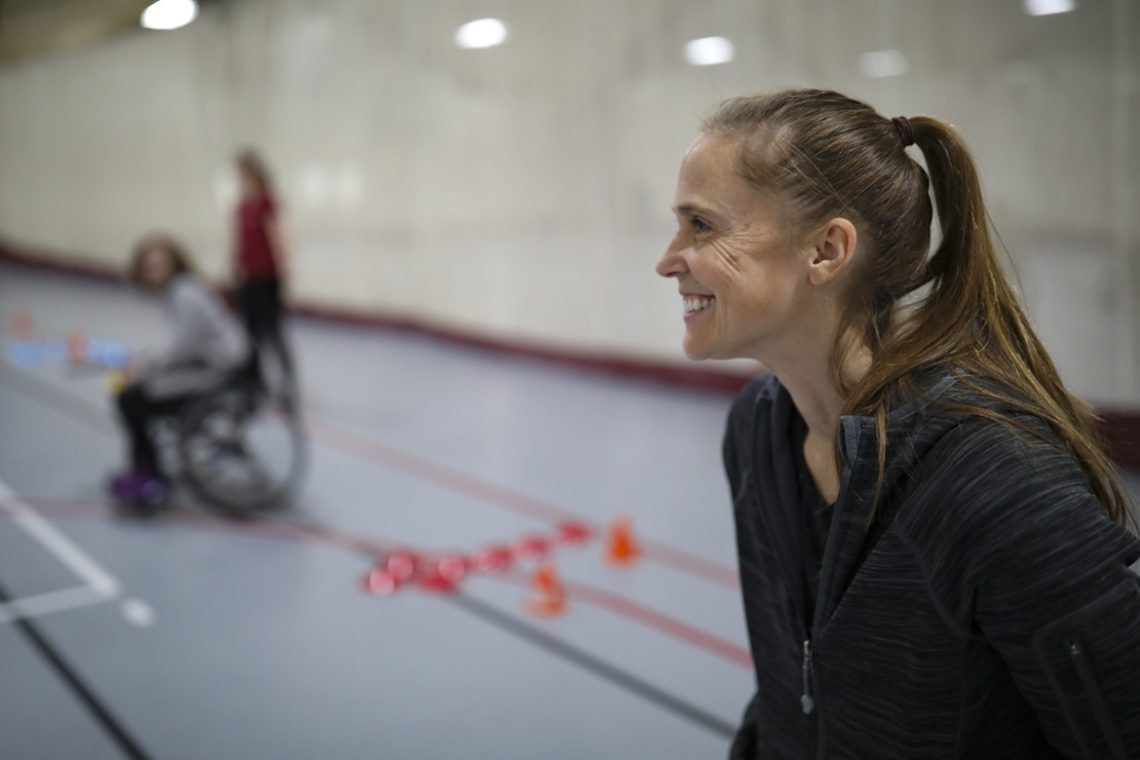 Gina Oswald, assistant professor of rehabilitation services
