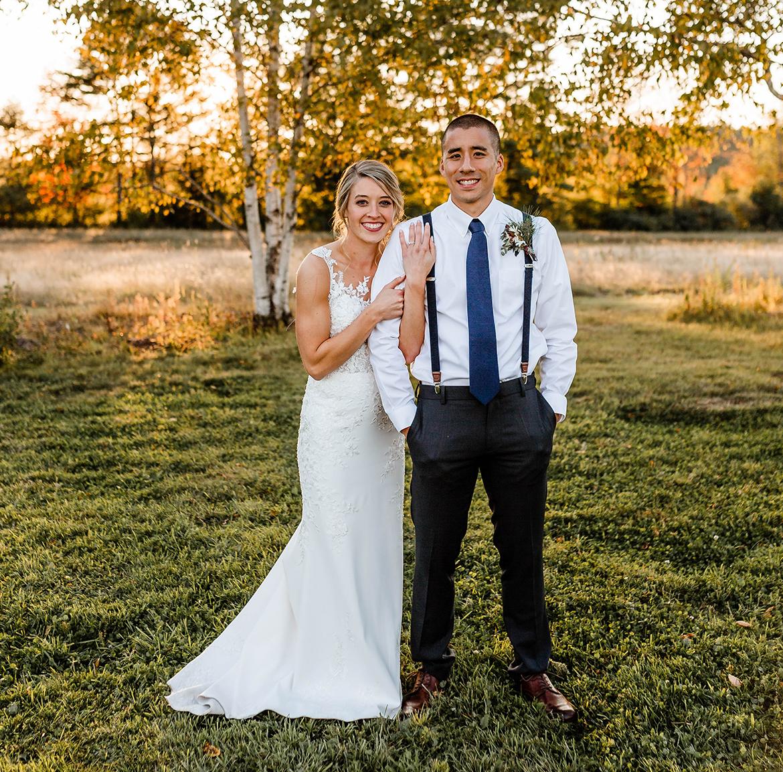 Kayla Tuttle and Jordan Kim Wedding photo