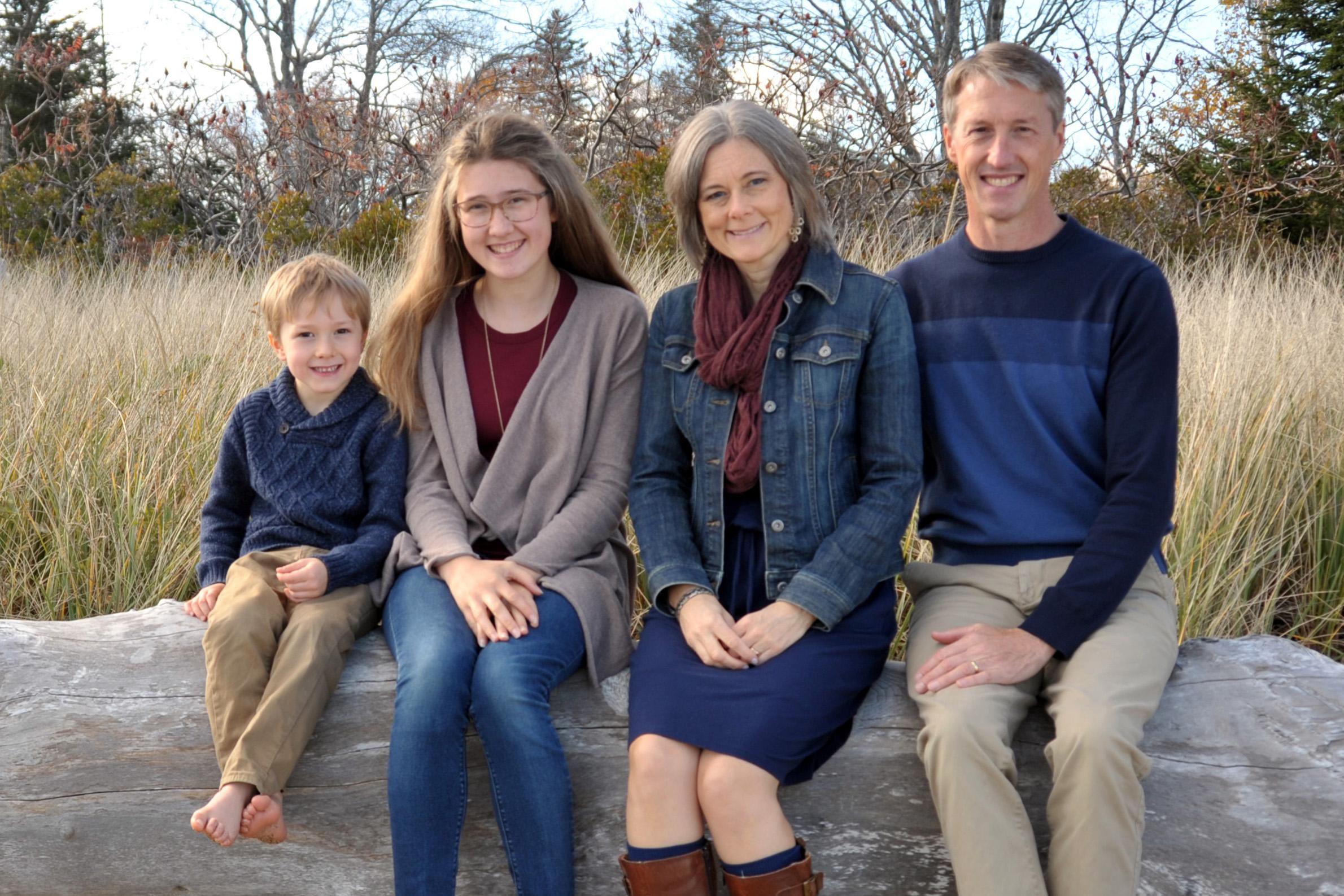 Lisa Truesdell '95 Family