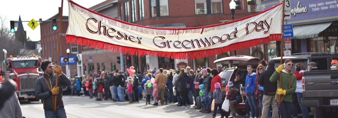 Chester Greenwood Parade scene