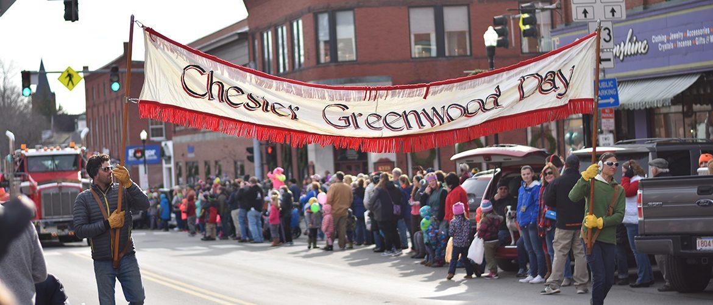 Chester Greenwood Parade scene