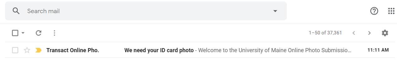 ID Card Sender Address