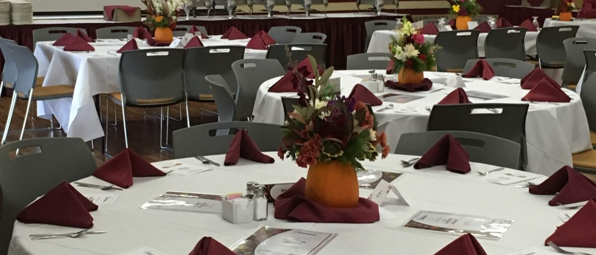 Fall Banquet - Located Olsen Student Center