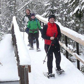 Snowshoeing_bridge