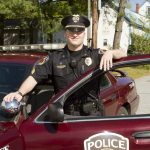 UMF Campus Police Chief in uniform