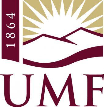 Logo for University of Maine at Farmington.