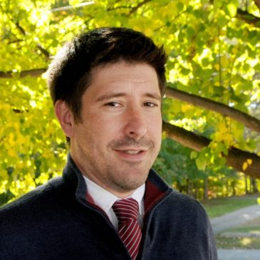 UMF History faculty member Michael Schoeppner