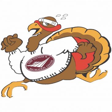 Trotting Turkey cartoon image