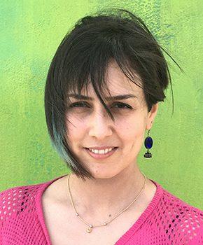 Parisa Ghaderi, curator