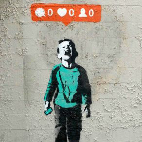"Banksy image ""Blog and the city"""