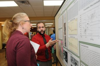 UMF's Symposium is a showcase of original student research and creative work that gives students the opportunity to present their work in a professional setting.