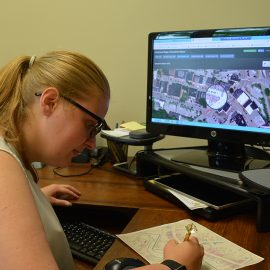 Thomsen is using GIS mapping to create digital tools for City of Gardiner Department of Public Works.