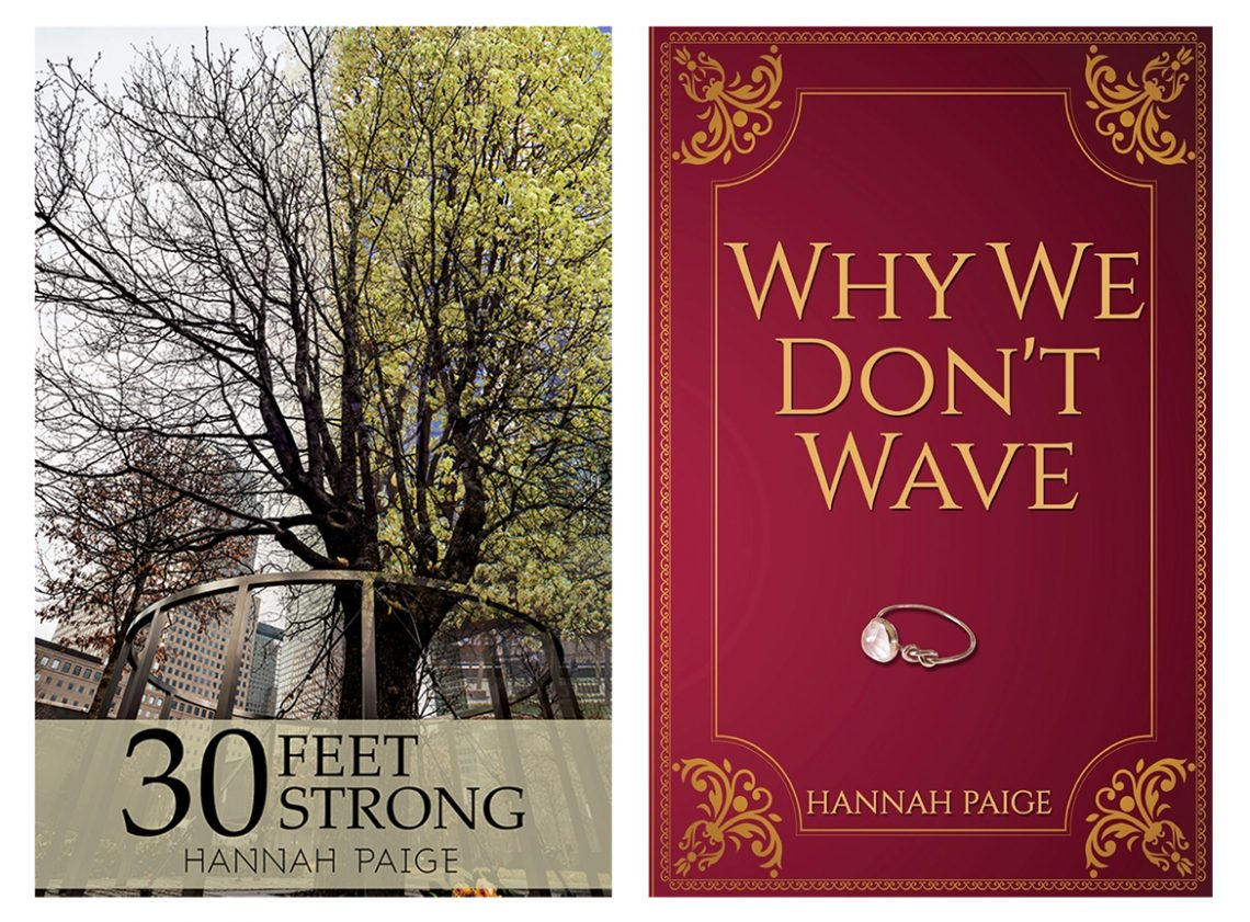 Hannah Binder's books, 30 Feet Strong and Why We Don't Wave