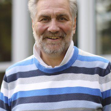 Dr. David Gibson, UMF professor of geology