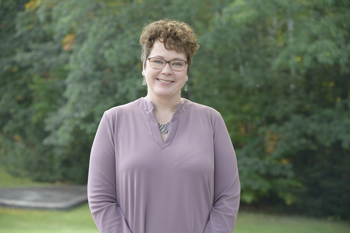 Erin Connor, UMF associate dean for Graduate and Continuing Education