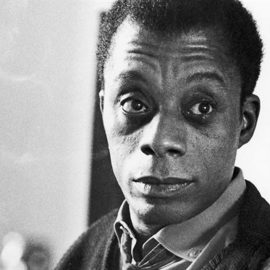 James Baldwin, American novelist, playwright and activist