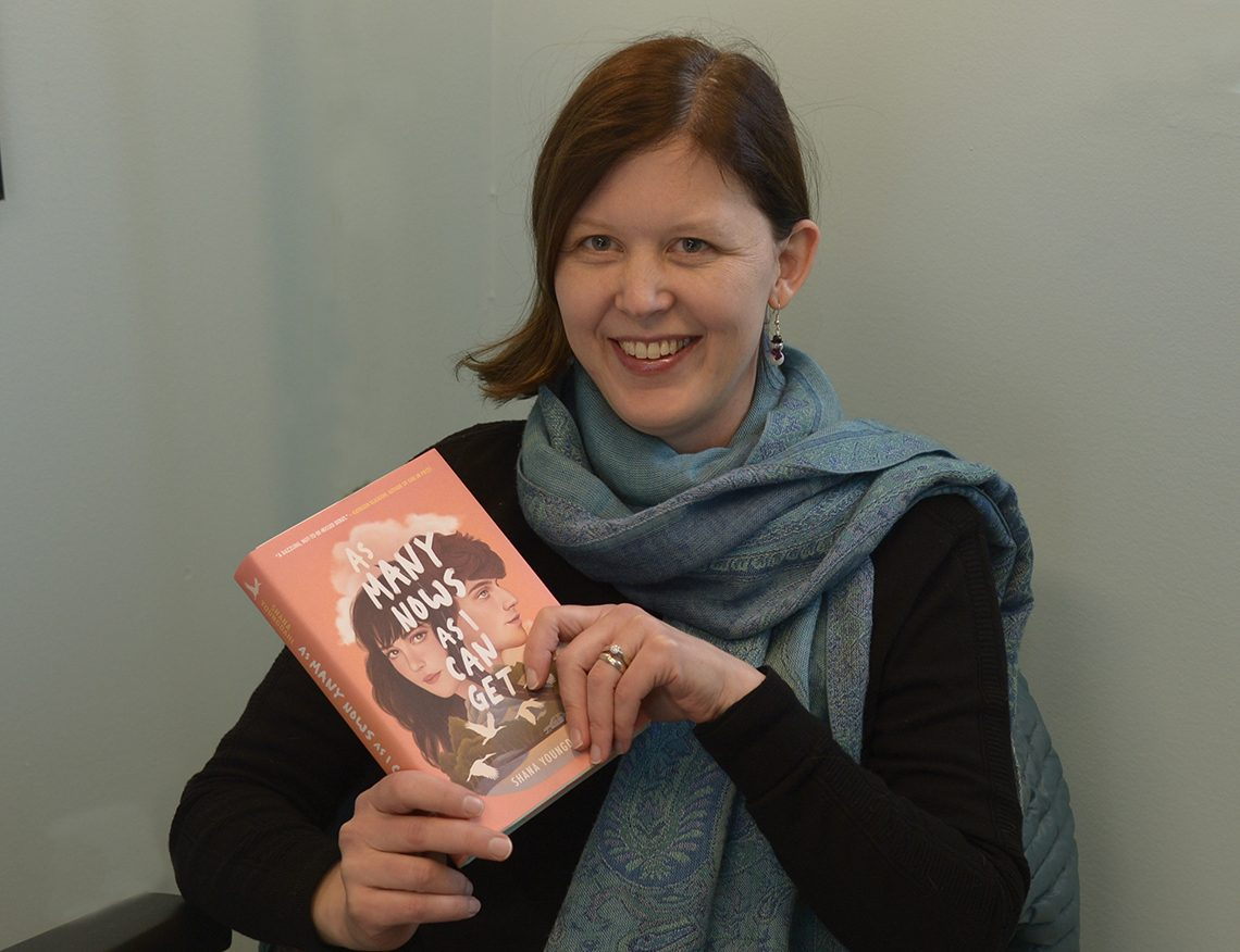 University of Maine at Farmington Assistant Professor of English Shana Youngdahl, has first novel recognized as a Best Book of 2019 for Young Adults